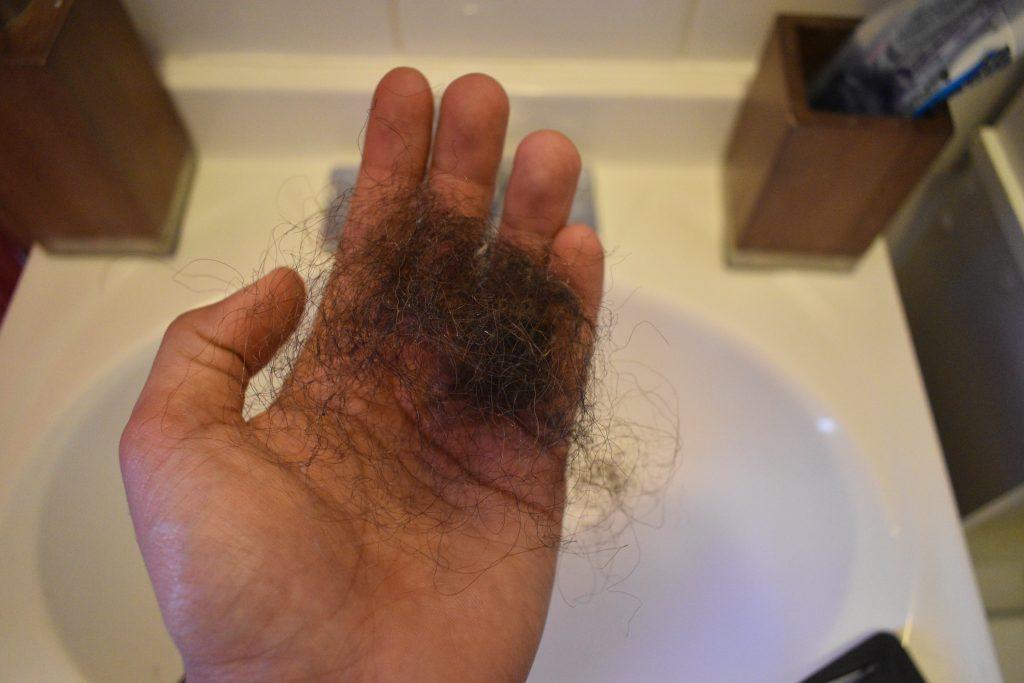 clean mens hair brush 4
