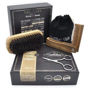 hair brush gift set FOR MEN