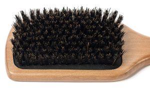 men brush natural bristles