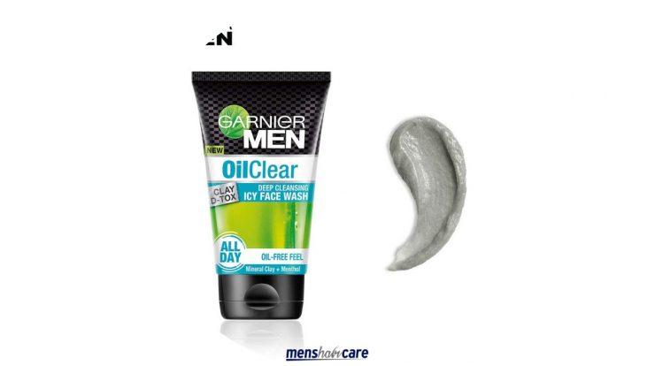the garnier men face wash