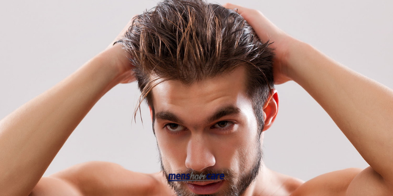 How to Get Silky Hair for Men 2