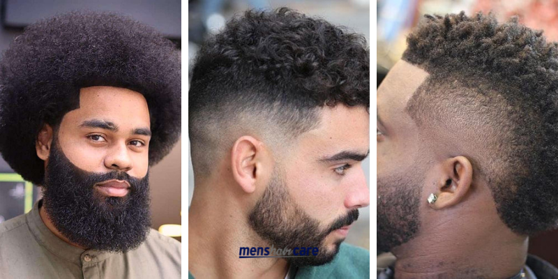 How to Get Afro Curls Male 2